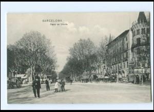 Y17931/ Barcelona Paseo de Gracia AK Spanien ca.1910