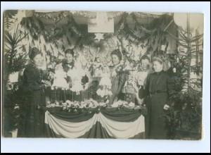 Y19563/ Puppen-Aussstellung Foto AK geschieben aus Bad Oldesloe 1907