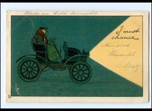 Y19562/ Schöne Auto Litho AK Verlag. R. Tuck & Sons 1903