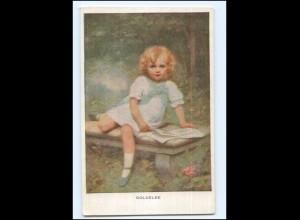 DP447/ Goldelse kleines Mädchen - M.Munk Nr. 880 AK ca.1910