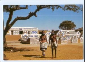 Y17901/ Nibele maiden Afrika junge Frau nackt AK