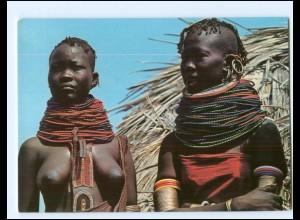 Y17902/ Turkana Girl Afrika junge Frau nackt AK