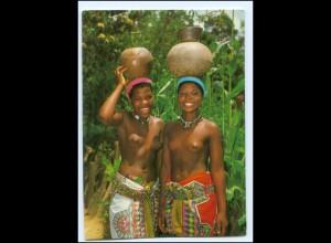Y17905/ Natal Südafrika Afrika junge Frau nackt AK