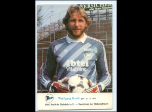 DP450/ Autogramm Wolfgang Kneib Torwart Armina Bielefeld Fußball AK
