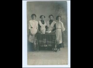 Y18003/ Hausangestellte Foto AK 1912