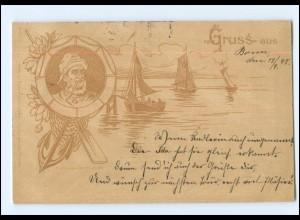 Y18004/ Fischer Fischerboote AK 1898