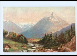 Y18052/ Tuck`s AK La Mole near Geneva Genf Schweiz AK 1907