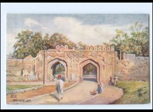 Y18069/ Tuck`s AK Delhi Kashmere Gate Indien ca.1912