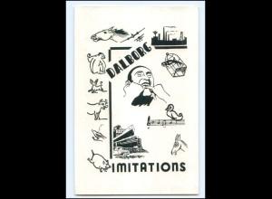 Y18200/ Dalborg Imitations Variete Karte ca.1920