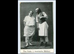 Y18213/ The Feits - komische Bäcker Variete AK ca.1910