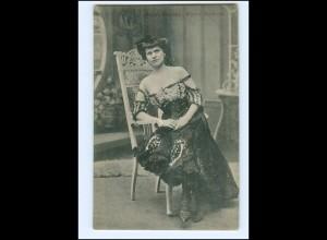 Y18091/ Anni Huber Wiener Soubrette Variete AK ca.1910