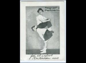Y18205/ Regnalf und Partnerin Artisten Variete AK 1948