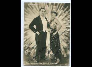V1014/ The Imperials Musical-Sensation Foto AK Variete 1931