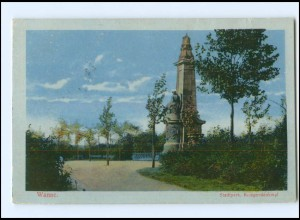 Y18142/ Wanne bei Herne Kriegerdenkmal AK 1918