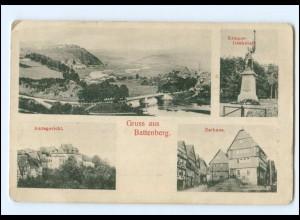 Y18132/ Battenberg Amtsgericht Rathaus AK ca.1900