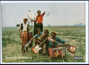 Y18165/ Soulful Dynamics alte Decca Autogrammkarte