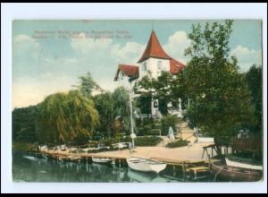 Y18747/ Hamburg Bergedorf Restaurant Marienburg AK 1914