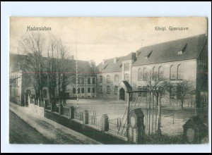 V1096/ Haderslev Hadersleben Königl. Gymnasium Nordschleswig Dänemark AK 1910