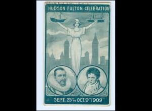 Y18336/ Hudson Fulton Celebration 1909 New York AK USA