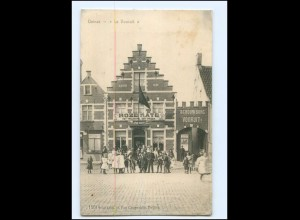 Y18245/ Deinze Le Vooruit Belgien AK 1917