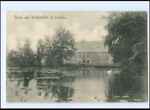 V1284-2080/ Gruß aus Wulfsmühle bei Pinneberg 1912 AK