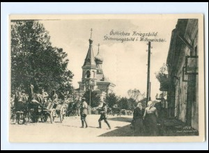 V1124/ Vilkaviškis Wilkowischki Wyłkowyszki Litauen AK 1915 Weltkrieg
