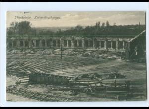 V1048/ Skierniewice Lokomotivschuppen Polen AK 1915
