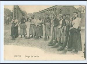 Y18250/ Liege Corps de balais Ak ca.1915 Belgien