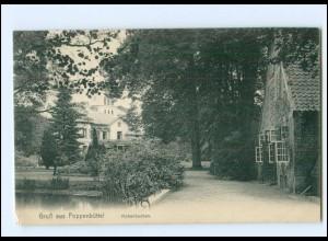 V1307/ Hamburg Poppenbüttel Hohenbuchen 1910 AK