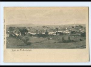 V1175-3549/ Niederselsungen Panorama AK