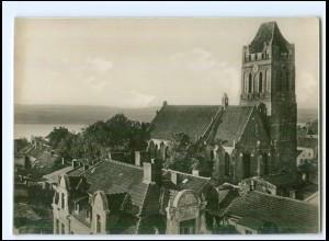 V1236/ Westpreußen Riesenburg Blick auf die Evangelische Kirche ca.1930 Foto AK