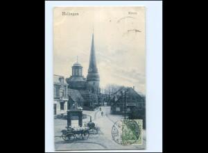 XX11787/ Rellingen Kirche 1911 AK