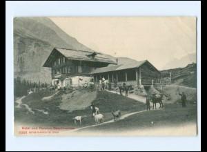 XX11839/ Hotel u. Pension Oeschinensee Schweiz AK ca.1910