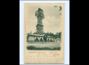 XX14793/ Harz Josephshöhe a.d. Auerberg AK + Bahnpost Berga - Rottleberode 1900