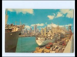 Y18346/ Chicago Illionois Navy Pier Hafen AK Dampfer 1964