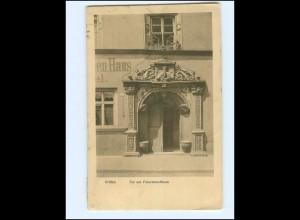 Y18534/ Pirna Tor am Feierabendhaus gelaufen nach Port Said-Cairo 1910
