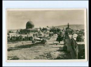 Y18357/ Jerusalem Tempelplatz Foto AK Palästina ca.1930