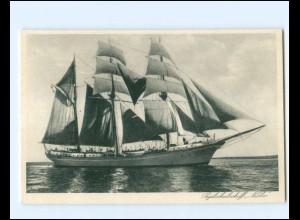 V1161/ Segelschulschiff Niobe AK ca.1930