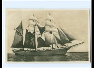 V1164/ Segelschulschiff Niobe Foto AK 1931