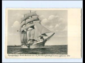 V1313/ Segelschulschiff Niobe 1932 gesunken AK