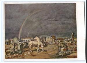 DP466/ nach dem Sturm bei Le Thillot Prof. Janesch AK Verlag: H. Hoffmann WK2