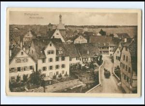 V1523-7120/ Bietigheim Metterbrücke AK 1918