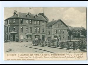 V1440-3457/ Stadtoldendorf Geschäfts- u. Lagerhuas Fa. Engelke AK 1905