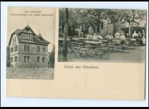 V1441/ Ginnheim Frankfurt M. Gastwirtschaft Zur Erholung AK ca.1912