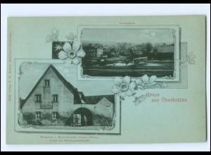 V1442-8679/ Gruß aus Oberkotzau AK ca.1900