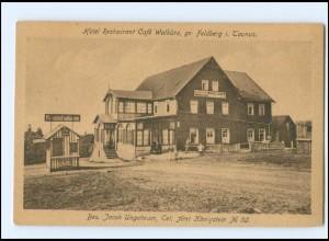 Y18540/ Feldberg im Taunus Hote Restaurant Walküre AK ca. 1920
