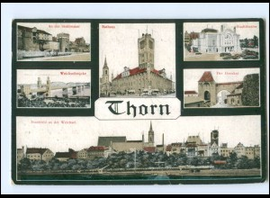 V1464/ Thorn Westpreußen AK 1917