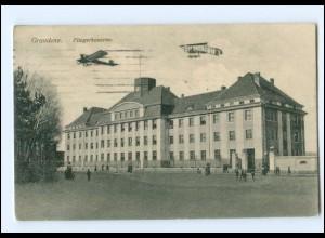 V1462/ Graudenz Fliegerkaserne Flugzeuge AK 1915 Westpreußen
