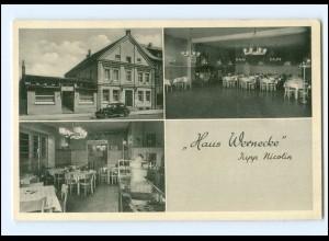 V1471-5760/ Neheim-Hüsten Haus Wernecke AK ca.1950