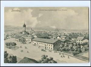 V1335-8011/ Zorneding Bichler`sche Gastwirtschaft AK ca.1910